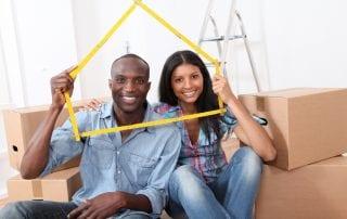 Millennials buying a home